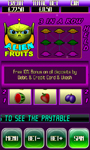 Alien Fruits mobile slot screenshot