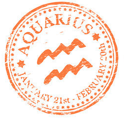 Aquarius Stamp