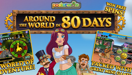 Around The World In 80 Days Mobile Slot By PocketWin — An In-Depth Review