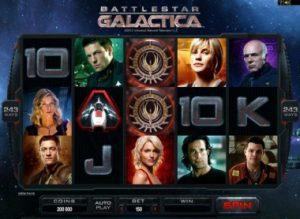 battlestar galattica slot