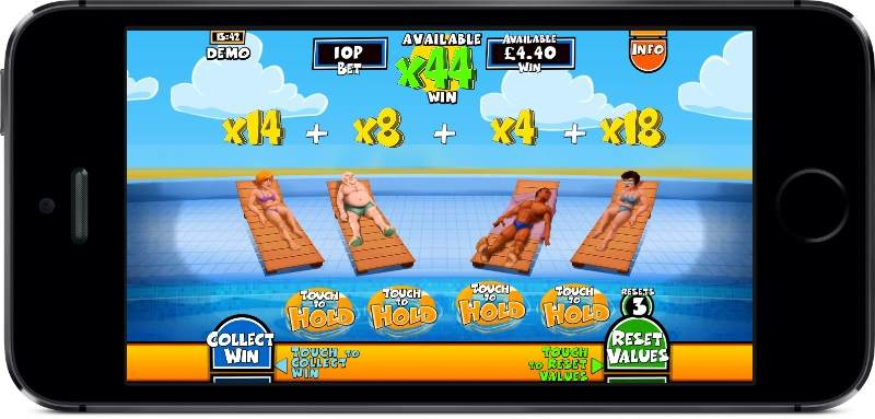 Benidorm or Bust PocketWin Mobile Slot Feature