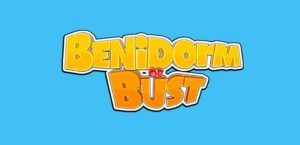 Benidorm or Bust PocketWin Mobile Slot Logo