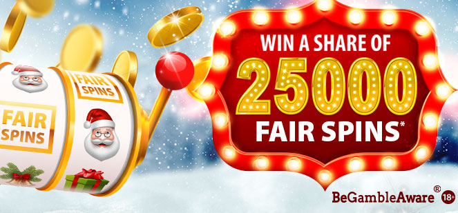 BGO Christmas Fair Spins promo