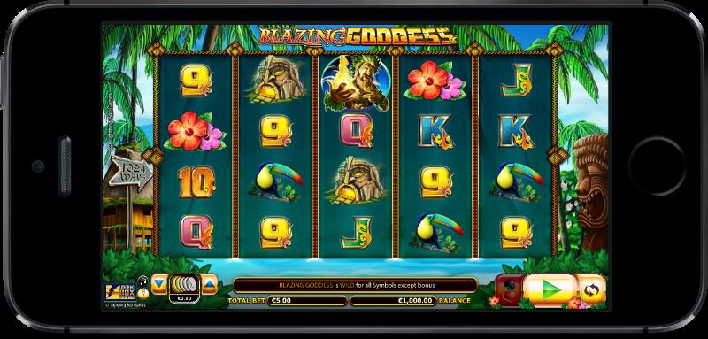 Blazing Goddess Slot Machine Online ᐈ Lightning Box™ Casino Slots