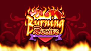 Burning Desire Slot Logo