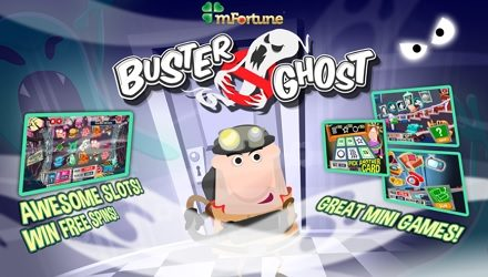 Buster Ghost Mobile Slot At mFortune Casino — Free £5!