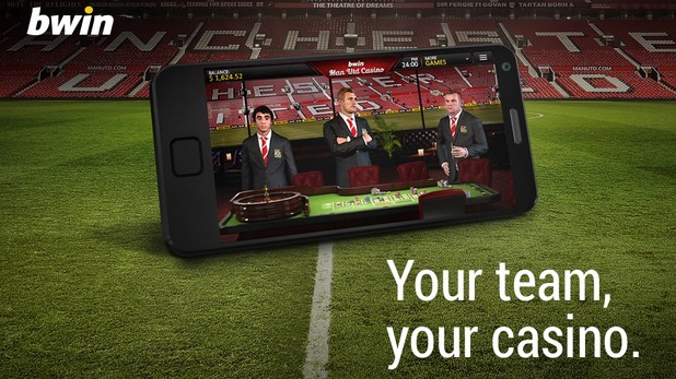 Bwin Manchester United Casino Screenshot