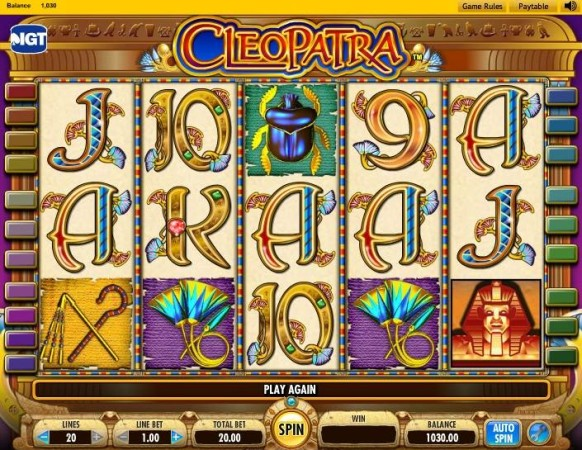 Cleopatra Slot by IGT – Gameplay