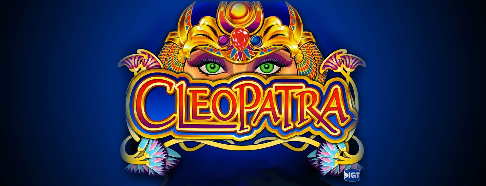 cleopatra online slot gaming logo erstellen