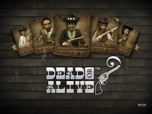 Dead or Alive Mobile Slot Logo NetEnt