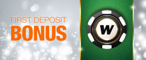 deposit match winner welcome bonus