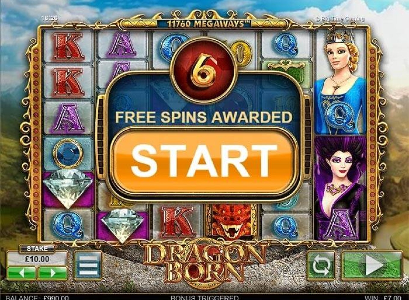 free online mobile slots free spin game