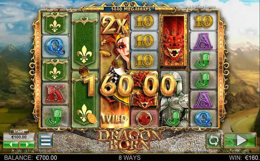 Dragon Born Slot by Big Time Gaming - Win