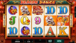 dragon dance mobile slot uk review screenshot