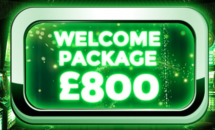 Dream Palace Casino Welcome Package Banner