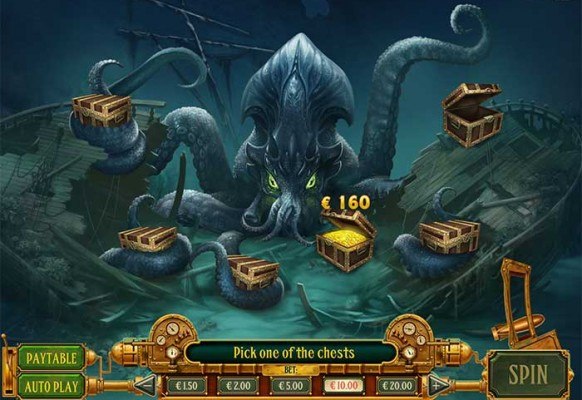 Eye of the Kraken by Play'n GO – Conquer the Kraken Feature