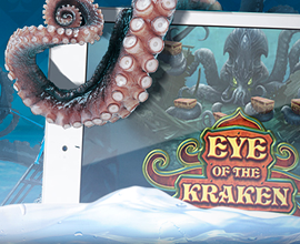 Eye of the Kraken Tentacles on Screen