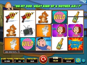 Family Guy Slot by IGT - Win