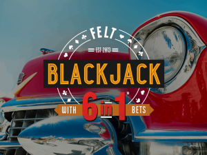 Felt Blackjack 6 in 1