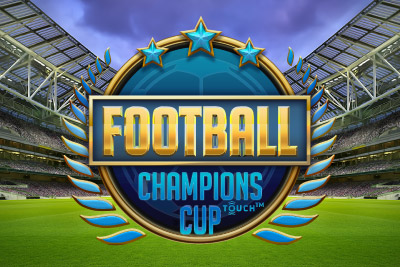 Football Champions Cup Mobile Slot NetEnt - Logo
