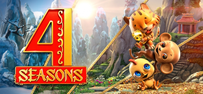 Review of 4 Seasons Mobile Slot – Win Up To 750,000 Coins