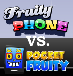Head to Head: Fruity Phone vs. PocketFruity
