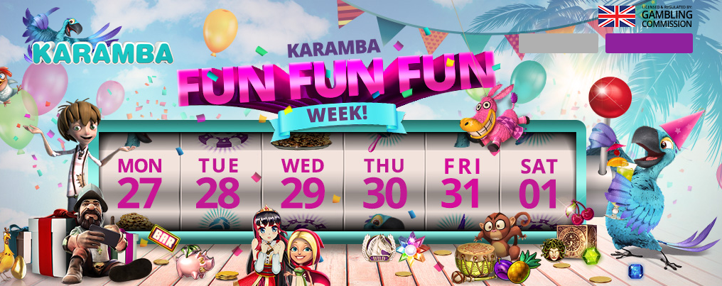 Karamba Fun Fun Fun Week