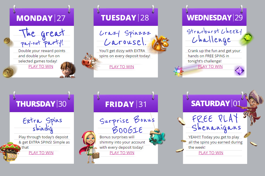 Karamba Fun Week Events