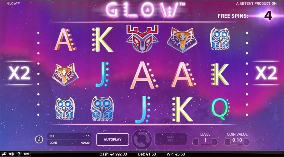Glow Slot by NetEnt