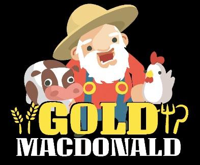 Gold MacDonald Mobile Slot Logo mFortune