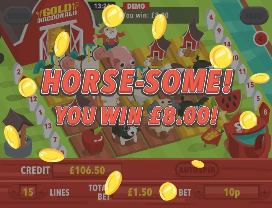 Gold MacDonald Mobile Slot by mFortune – Win