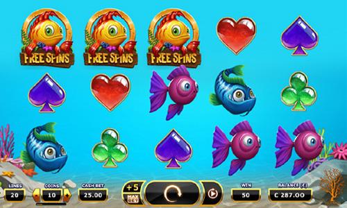 Golden Fish Tank by Yggdrasil Slot - Gameplay