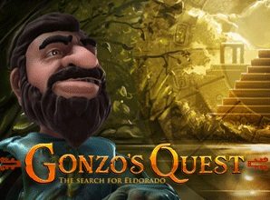 Gonzo's Quest game logo