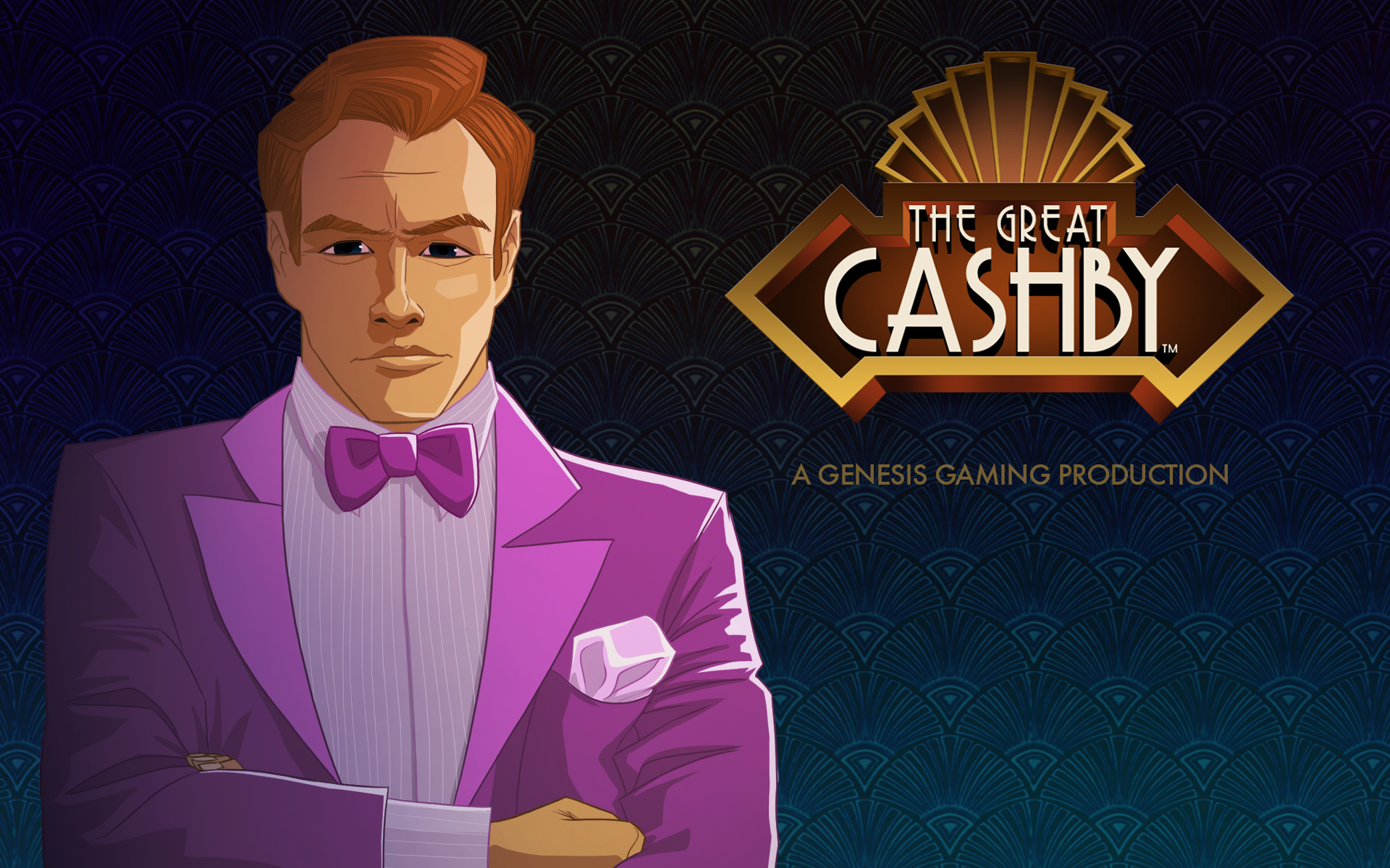 Great Cashby Genesis Gaming Slot Logo