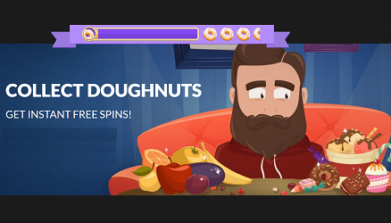 Collect New Year's Donuts And Claim Extra Spins At Guts Casino