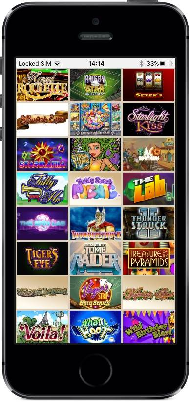 Hippozino Casino Games on Mobile