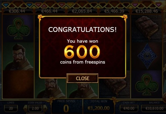 Holmes and the Stolen Stones Slot by Yggdrasil – Extra Spins Winnings