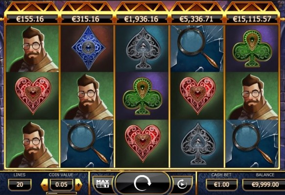 Holmes and the Stolen Stones Slot by Yggdrasil – Gameplay