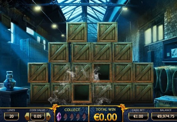 Holmes and the Stolen Stones Slot by Yggdrasil – Warehouse Bonus Game