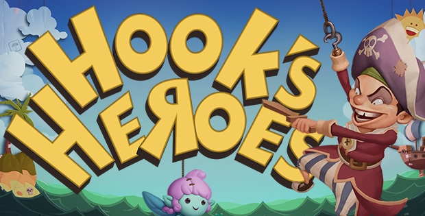 Hook's Heroes Slot by NetEnt Logo