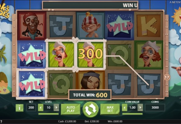 Hook's Heroes Slot by NetEnt – Winning Combination