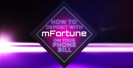 Video Guide To Mobile Phone Bill Depositing At mFortune Casino