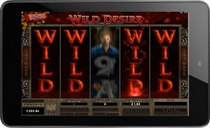 Immortal Romance Slot Wild Desire screenshot
