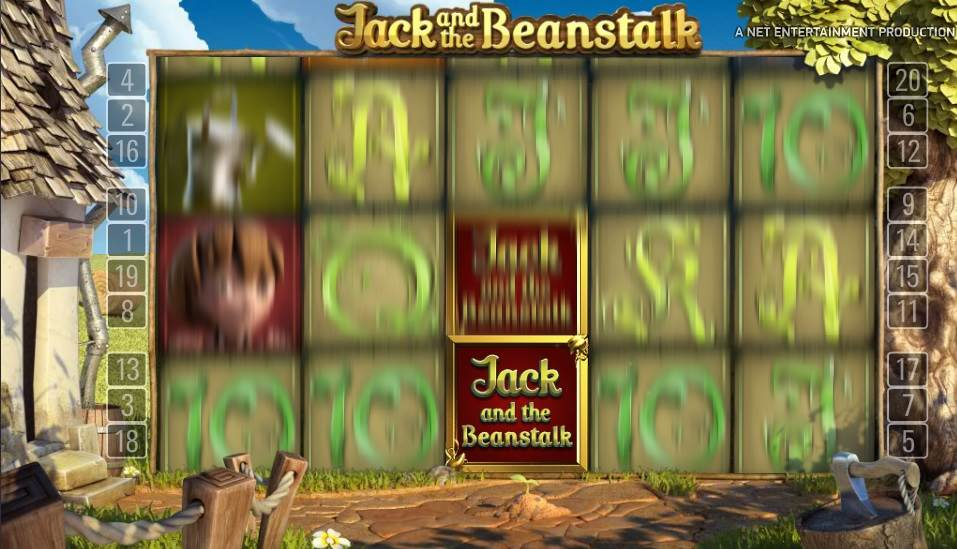 Jack and the Beanstalk Slot by NetEnt - Walking Wild