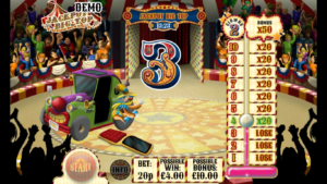 jackpot big top slot guessing game