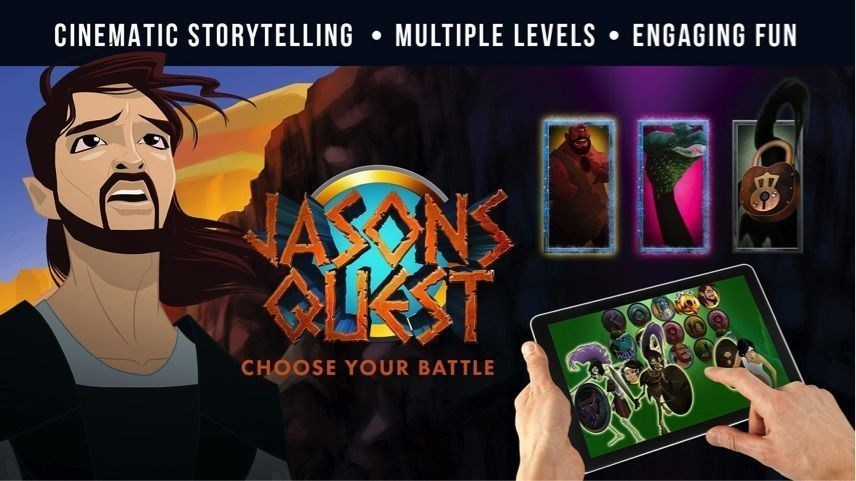 Jason's Quest by Genesis Gaming Mobile Slot Intro