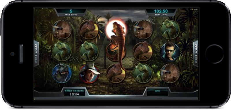Jurassic Park Mobile Slot iPhone