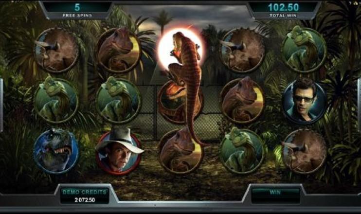 Jurassic park Online Slot Machine for Real Money-RizkCasino