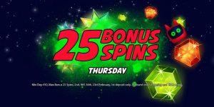 Kerching 25 Extra Spins