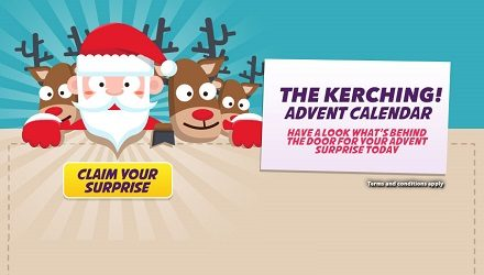 Still Time To Claim Huge Bonuses With The Kerching Casino Advent Calendar